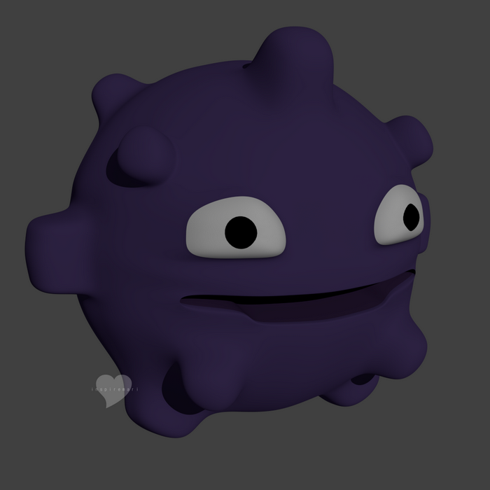 3D Pokemon Koffing