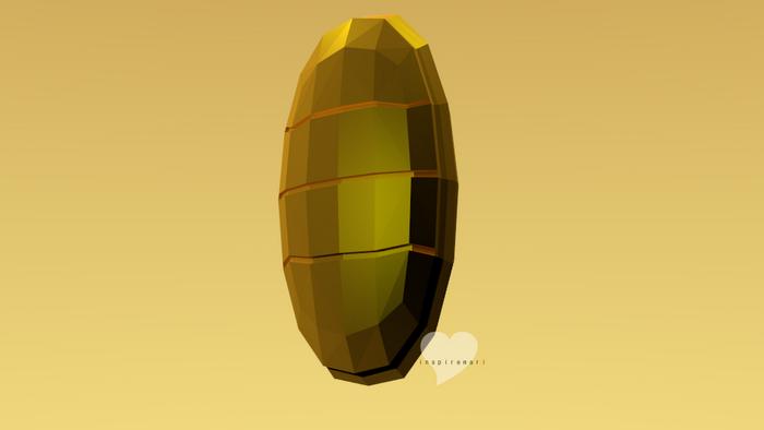 3D Meowth's coin