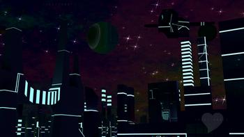 Space Scene 3D Blender
