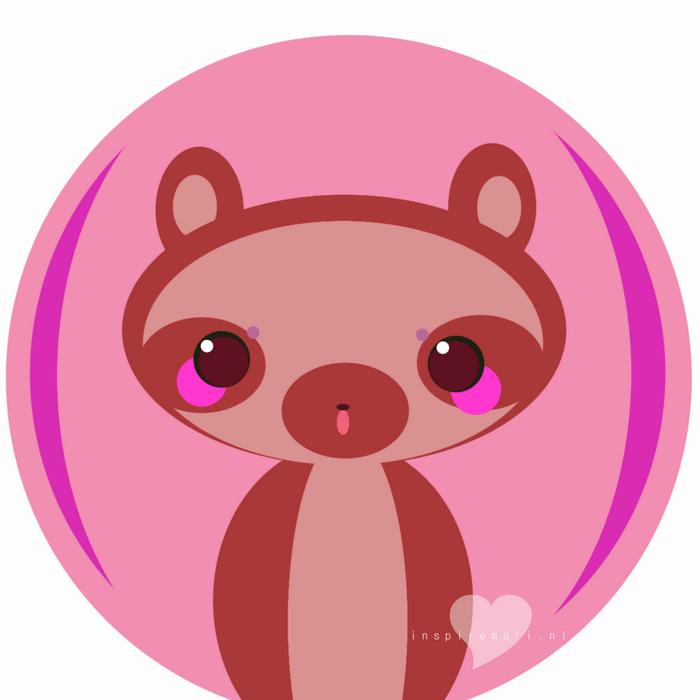 cute raccoon ART GIMP