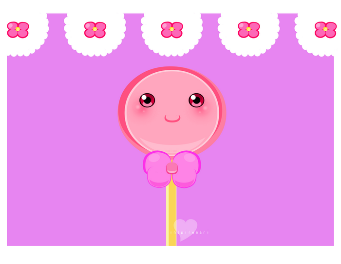 Cute Kawaii Lolita Lolly Lollipop
