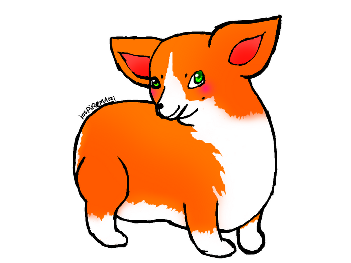 welsh corgi pembroke art