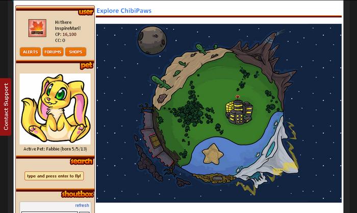 Virtual Pet Site ChibiPets