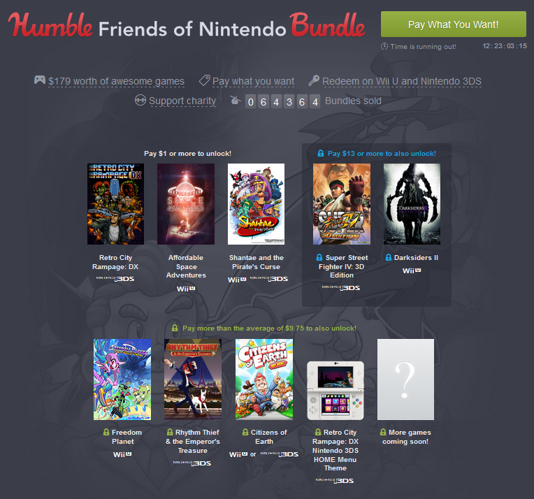 Humble Bundle Nintendo Europe