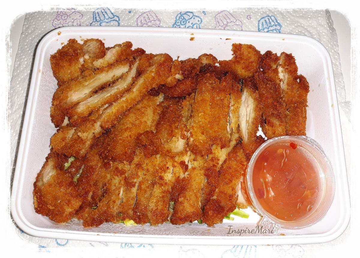 Japanese food tori karaage fried chicken