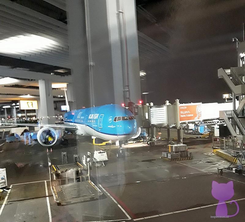 KLM Boeing 777-300ER at Amsterdam Schiphol