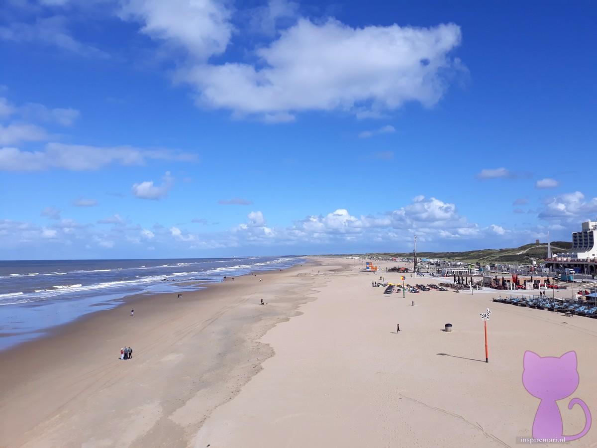 Beach of Scheveningen near The Hague, the Netherlands