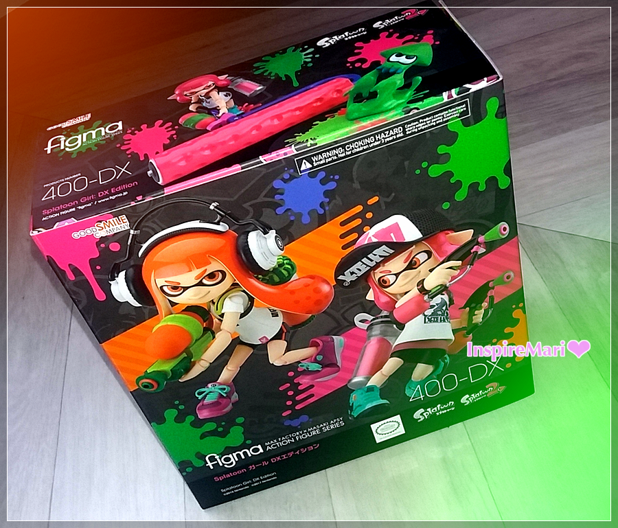 Splatoon Girl: DX 400 figma GoodSmile