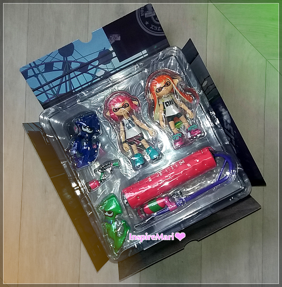 Splatoon Girl: DX 400 figma GoodSmile inside