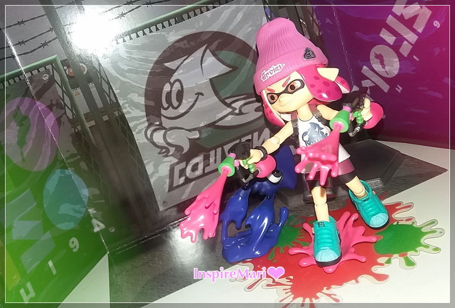 Splatoon 2 Girl Veemo posing