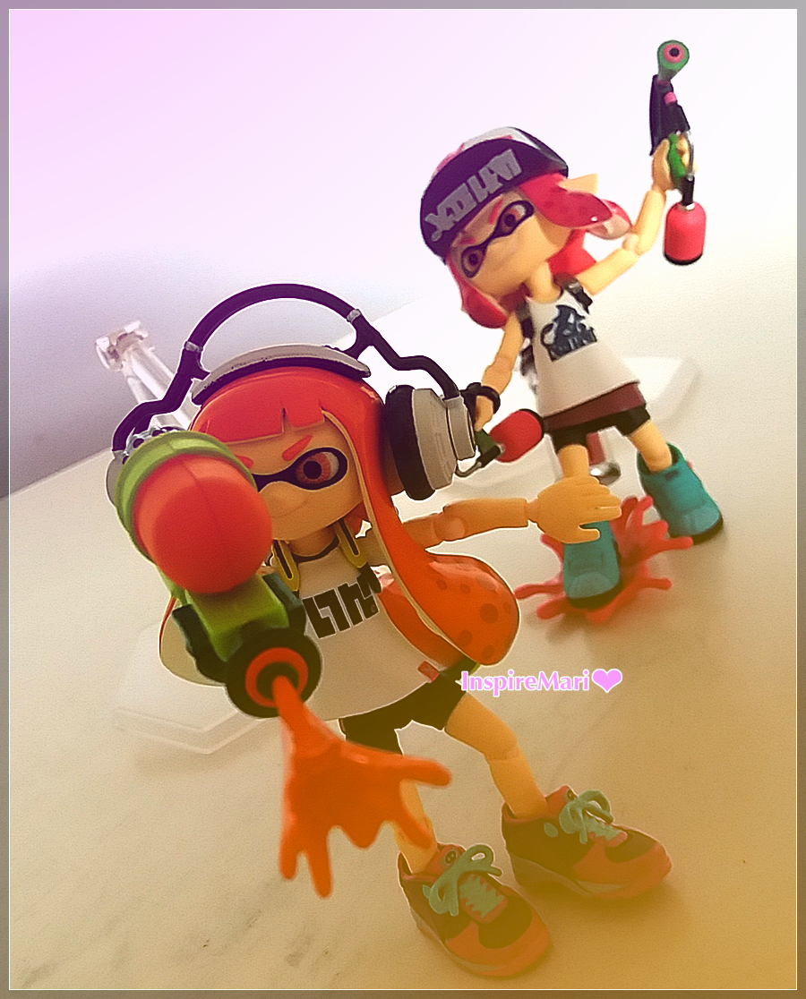 figma good smile Splatoon figure from Japan