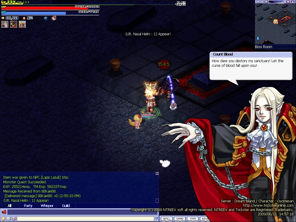Trickster Online mmo game