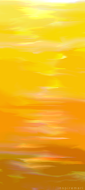 Art: Champagne Sunset
