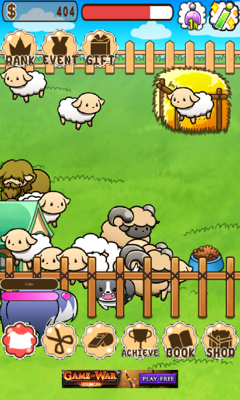Baw Wow Sheep Collection Screenshot