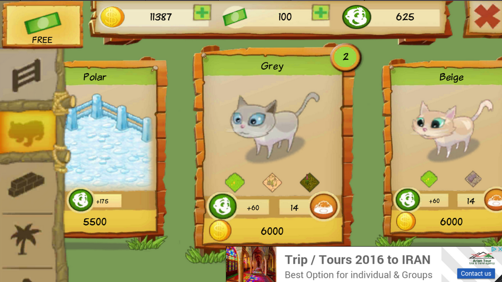 Cat Park Tycoon Android Game Review