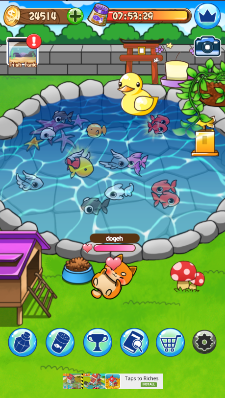 Goldfish Collection Android Game Review