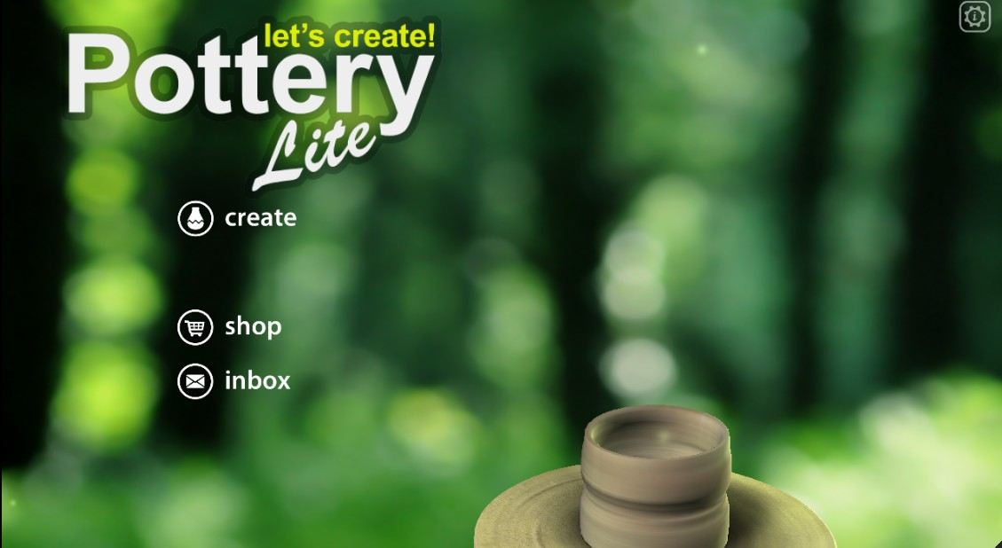 Time to relax: Let's Create! Pottery Lite