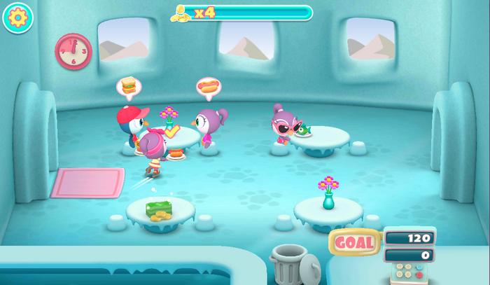 Penguin Diner 3D Screenshot