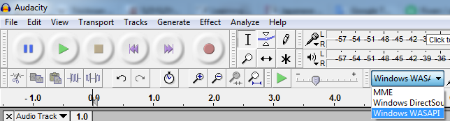 Record computer sounds with Audacity