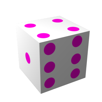 GIMP 3D Dice Tutorial