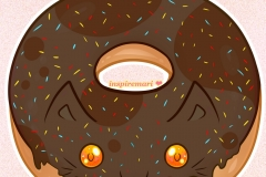 Kitty Donut Choco