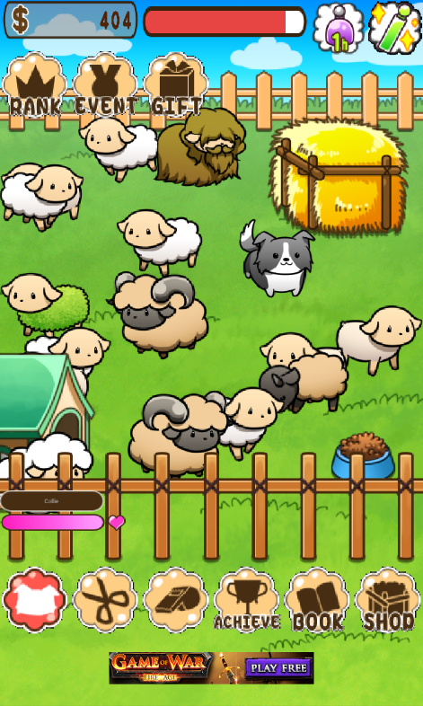 Sheep breeding virtual pet sim for android