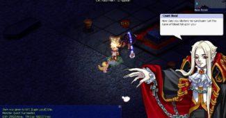 Trickster Online cat versus Count Blood boss