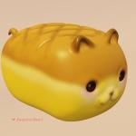 Cat Bread: Cute 3D Art