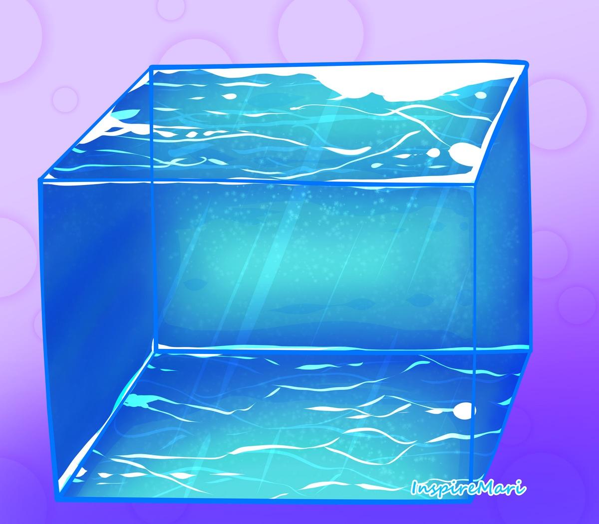 Water Cube art by InspireMari