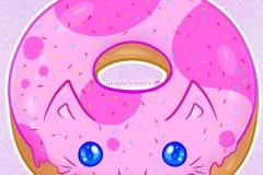 Kitty Donut Strawberry