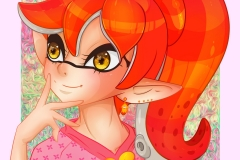 Cute Splatoon OC Girl