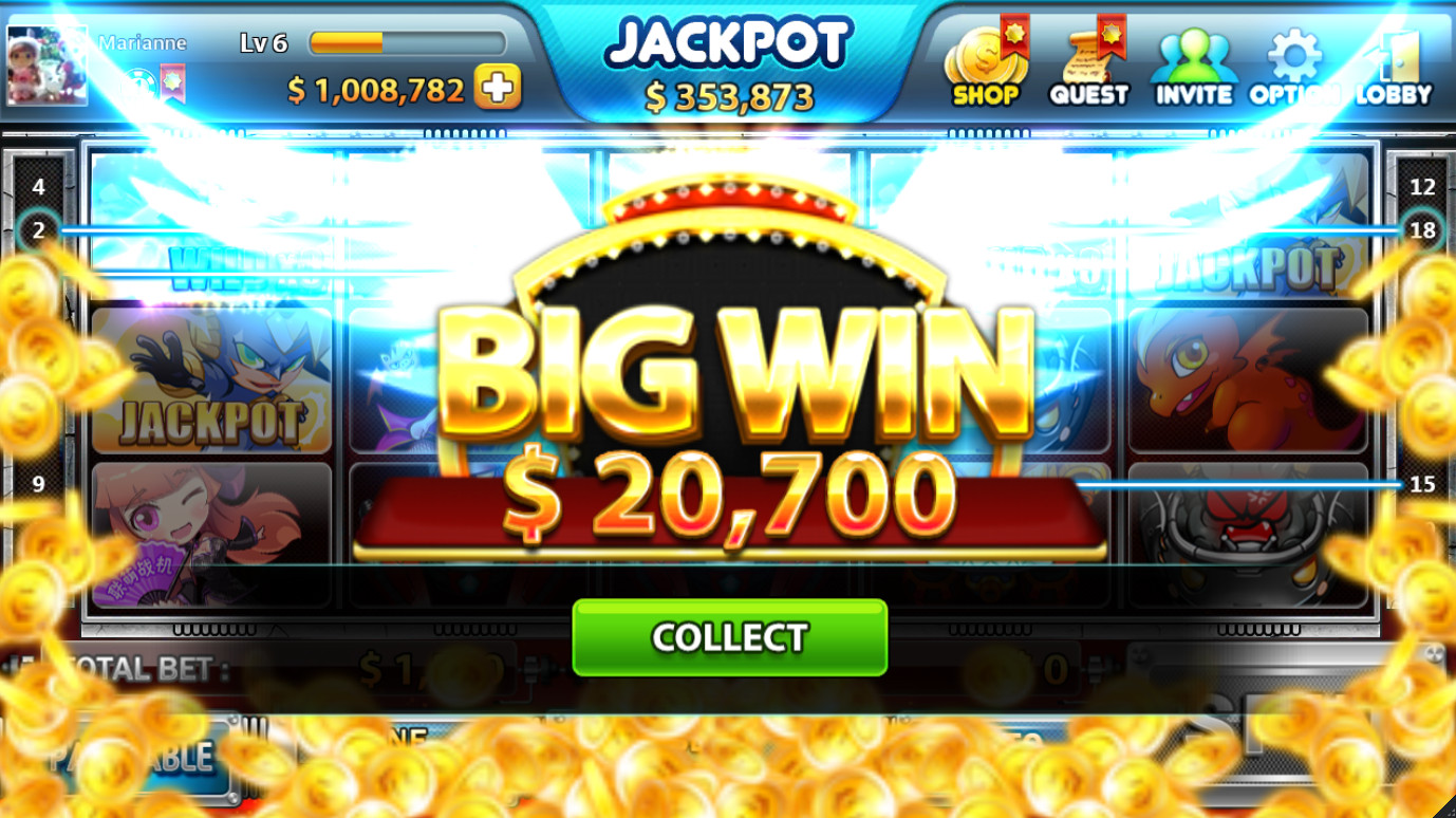 win big at free app casino game