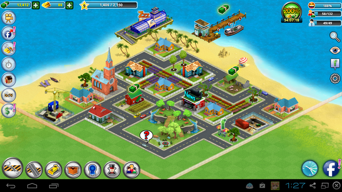 Build you own city and become rich in City Island